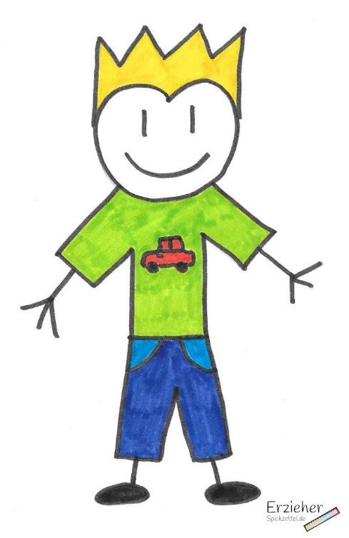 Persönlichkeitsbeschreibung - Hortkind - männlich - Beispiel