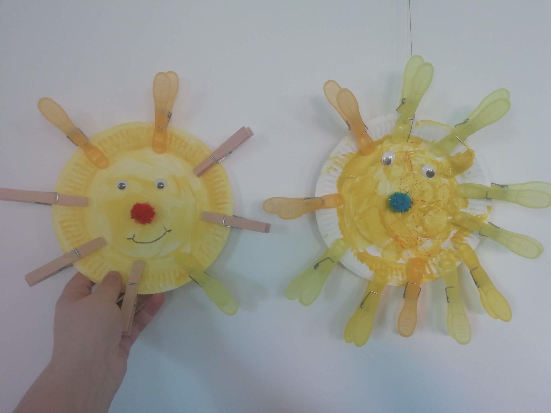 Sonnen basteln - Angebotsidee